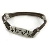 Witness Collection, Adjustable Leather Bracelet