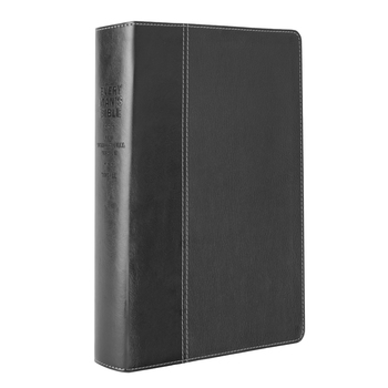 NIV Every Man's Large Print Bible, Duo-Tone, Multiple Colors Available