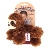 Aurora, Shoulderkins, Sam the Sloth Stuffed Animal, Brown, 6 inches
