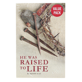 Salt & Light, He Was Raised To Life Easter Tracts, 5 1/4 x 3 1/2 inches, Set of 50 Tracts
