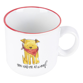 Prima Design, You Had Me At Woof Coffee Mug, Ceramic,  4 x 5 1/2 inches