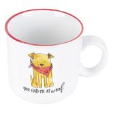 Prima Design, You Had Me At Woof Coffee Mug, Ceramic,  4 x 5 1/2 inches