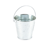 Bright Ideas, Small Metal Treat Pail with Handle, Multiple Colors Available, 4 1/4 inches