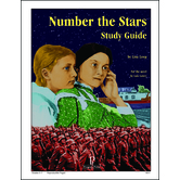 Progeny Press, Number The Stars Student Study Guide, Paperback, 54 Pages, Grades 5-7