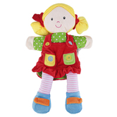 The Puppet Company, Light Skin Girl Puppet, 15 inches