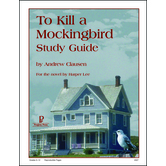 Progeny Press, To Kill A Mockingbird Student Study Guide, Paperback, 67 Pages, Grades 9-12