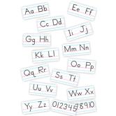 TREND Enterprises, Basic Alphabet (Zaner-Bloser Manuscript) Bulletin Board Set, 15 Pieces