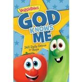 VeggieTales, God Knows Me: 365 Daily Devotions for Boys, Paperback