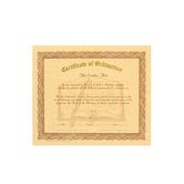Certificate of Ordination, Set of 12