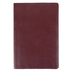 NIV Thinline Reference Bible, Large Print, Bonded Leather, Burgundy