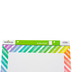 Renewing Minds, Customizable Blank Chart, Rainbow Stripes, 17 x 22 Inches, 1 Each