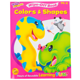 TREND, Colors and Shapes Wipe-Off Book, 27 Pages, Grades PreK-K