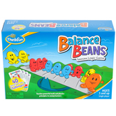 ThinkFun, Balance Beans: Seesaw Logic Game, Single Player, Ages 5 and Older, 53 Pieces