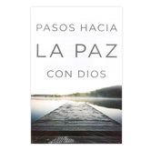 Good News Tracts, Pasos Hacia La Paz Con Dios Tracts, Set of 25 Spanish Tracts