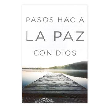 Good News Tracts, Pasos Hacia La Paz Con Dios Tracts, Set of 25 Spanish Tracts