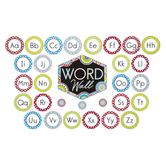 Isabella Collection, Word Wall Bulletin Board Set, Multi-Colored, 47 Pieces