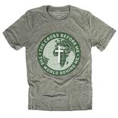 NOTW, The Cross Before Me, Men's Short Sleeve T-Shirt, Military Green Heather, S-2XL