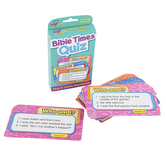 Trend, Bible Times Quiz Challenge Card Game, Ages 7 Years and Older, 56 Cards