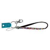 the Jewelry Shoppe, Flat Rhinestone Wristlet Key Chain, 9 inches