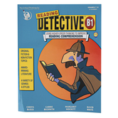 The Critical Thinking Co., Reading Detective B1 Workbook, Paperback, 208 Pages, Grades 7-8