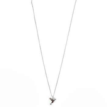 Dicksons, Confirmed In Christ Dove Pendant Necklace, Silver Plated, 18-inch Chain