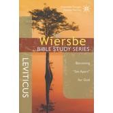 Leviticus: Becoming Set Apart for God, The Wiersbe Bible Study Series, by Warren W. Wiersbe