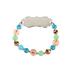 Bella Grace, Love Beaded Stretch Bracelet, Multicolored, 3 inch diameter