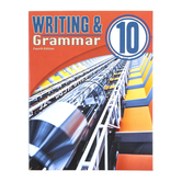 BJU Press, Writing & Grammar 10 Student (4th Edition)