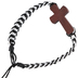 Faithworks, Threads of Faith Cross Cord Adjustable Bracelet, Assorted Colors, 8 inches