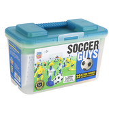 MasterPieces, Soccer Guys Sports Action Figure Set, 27 Pieces, Ages 3 and Older