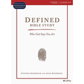 Defined Bible Study Kit: Who God Says You Are, by Stephen Kendrick & Alex Kendrick, Kit
