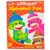 TREND, Alphabet Fun Wipe-Off Book, 27 Pages, Grades PreK-K
