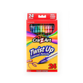 CraZArt, Twist-Up Colored Pencils, Assorted, 24 Count