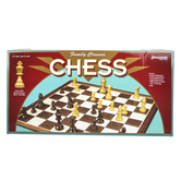 Pressman Toys, Family Classics Chess Board Game, Ages 8 and Older, 2 Players