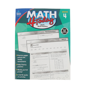Carson-Dellosa, Math 4 Today Workbook: Daily Skill Practice, Paperback, 96 Pages, Grade 4