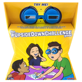 Hog Wild Toys, The Upside Down Challenge Game, 33 Pieces, Supports 2 to 6 Players, Ages 8 & Older