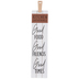 Kitchen Gatherings Board Wall Decor, Wood, White, 26 5/8 x 5 5/8 x 5/8 inches