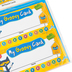 Edupress, Pete the Cat My Groovy Punch Cards, Multi-Colored, 5.75 x 3 Inch, Pack of 60