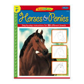 Draw & Color Horses & Ponies by Janet Griffin-Scott