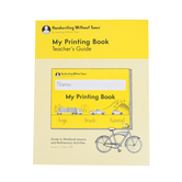 Handwriting Without Tears, My Printing Book Teacher's Guide, Paperback, Grade 1