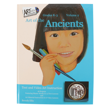 ARTistic Pursuits, Volume 2 Art of the Ancients, Hardcover Book and Video Set, 18 Lessons, Grades K-3