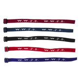 Swanson, WWJD Cloth Woven Bracelet, Adjustable, Assorted Colors, 8-Inch One Size Fits Most, 1 Each