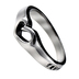 Spirit and Truth, True Love Waits,  Mini Heart Ring, Silver Plated