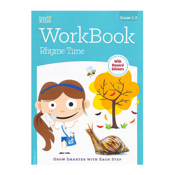Retail Centric Marketing, Step Up Kids Rhyme Time Workbook, Paperback, Grades 1-3