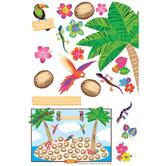 Renewing Minds, Palm Tree Bulletin Board Set, 86 Pieces