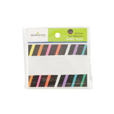 Chalk Talk Collection, Self-Adhesive Labels, 3.5 x 2.5 Inches, Multi-Colored Stripes, Pack of 36