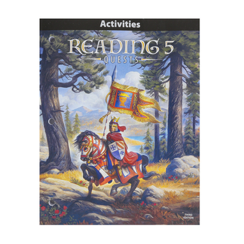 BJU Press, Reading 5 Student Activities, 3rd Edition, Paperback, Grade 5