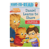 Daniel Learns to Share, Daniel Tiger's Neighborhood, Pre-Level 1 Reader, by Becky Friedman