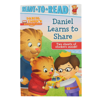 Daniel Learns to Share, Daniel Tiger's Neighborhood, Pre-Level 1 Reader, by Becky Friedman