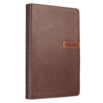 KJV Gift Bible, Imitation Leather, Brown